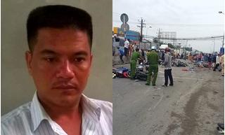 Tin mới vụ tài xế container đâm hàng loạt xe dừng đèn đỏ ở Bến Lức làm 4 người chết