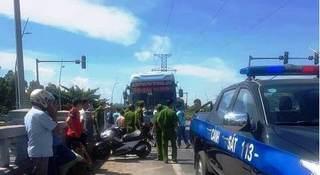Vụ 2 nhà xe hỗn chiến sau va chạm: Tạm giữ xe khách để điều tra