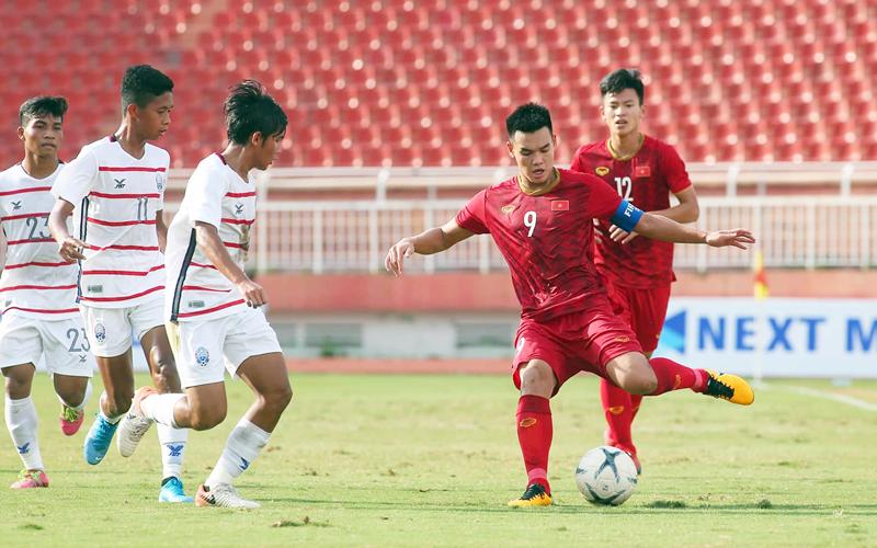 BLV Quang Huy tỏ ra ngỡ ngàng khi U18 Việt Nam thua cả Campuchia