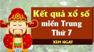 XSMT 24/8 - Kết quả xổ số miền Trung hôm nay thứ 7 ngày 24/8 - KQXSMT