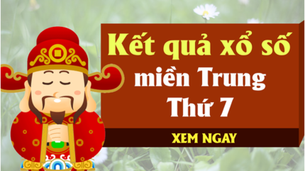 XSMT 7/12 - Kết quả xổ số miền Trung hôm nay thứ 7 ngày 7/12 - KQXSMT