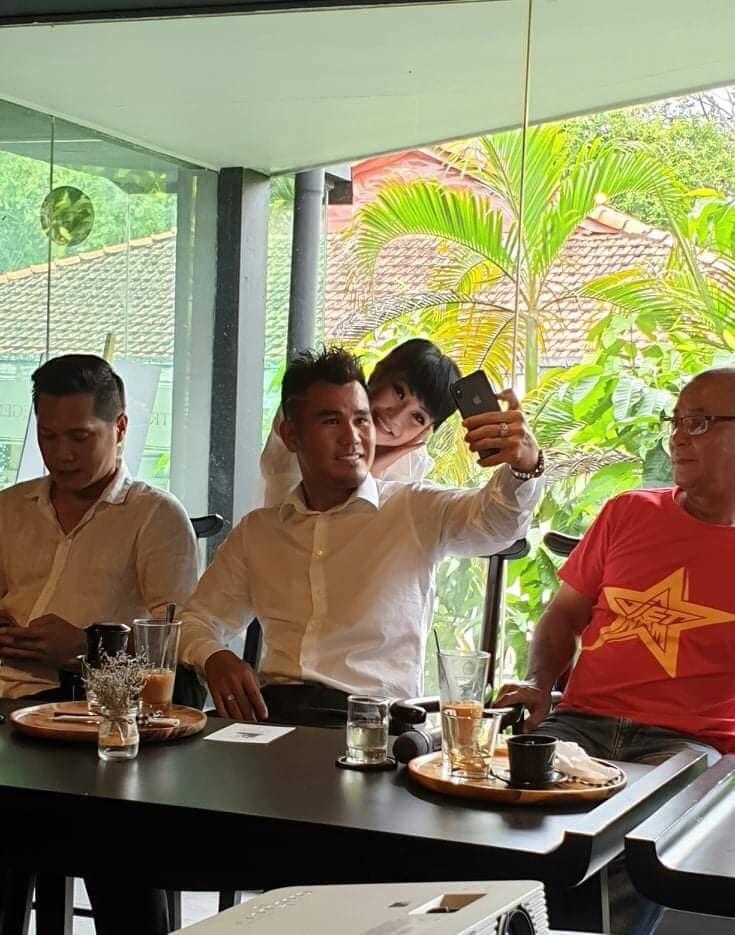Phương Thanh đăng ảnh hội ngộ với Phan Thanh Bình