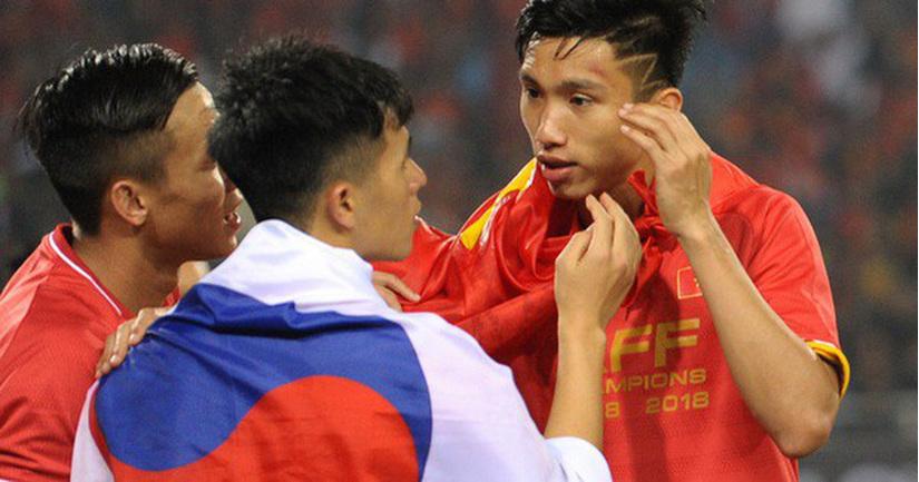 Đội tuyển Việt Nam sẽ không có được sự phục vụ của bộ đôi trụ cột là Đình Trọng và Văn Hậu