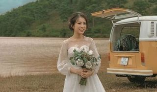 Con gái Minh Nhựa khoe mặc váy cưới, dân mạng háo hức chờ đám cưới siêu sang