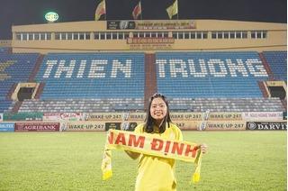 Nữ CĐV xinh đẹp của CLB Nam Định qua đời trên đường đến sân cổ vũ