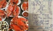 Chia sẻ hoá đơn hải sản 85 triệu, người đàn ông nhận bình luận sốc từ chủ nhà hàng