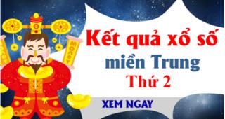XSMT 13/1 - Kết quả xổ số miền Trung hôm nay thứ 2 ngày 13/1 - KQXSMT