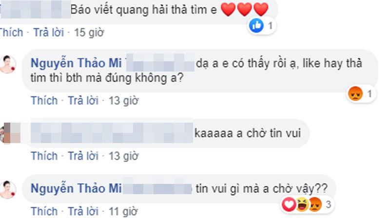 bạn gái hot girl lần đầu lên tiếng về chuyện yêu Quang Hải3