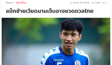 Báo Thái Lan: 'Việt Nam sẽ gặp khó khi thiếu vắng Đoàn Văn Hậu'