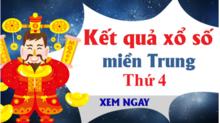 XSMT 21/8 - Kết quả xổ số miền Trung hôm nay thứ 4 ngày 21/8 - KQXSMT