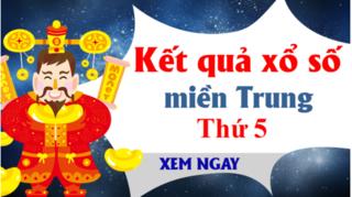 XSMT 29/8 - Kết quả xổ số miền Trung hôm nay thứ 5 ngày 29/8 - KQXSMT