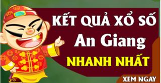 XSAG 19/9 - Kết quả xổ số An Giang thứ 5 ngày 19/9/2019