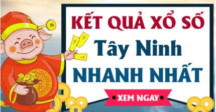 XSTN 22/8 - Kết quả xổ số Tây Ninh thứ 5 ngày 22/8/2019
