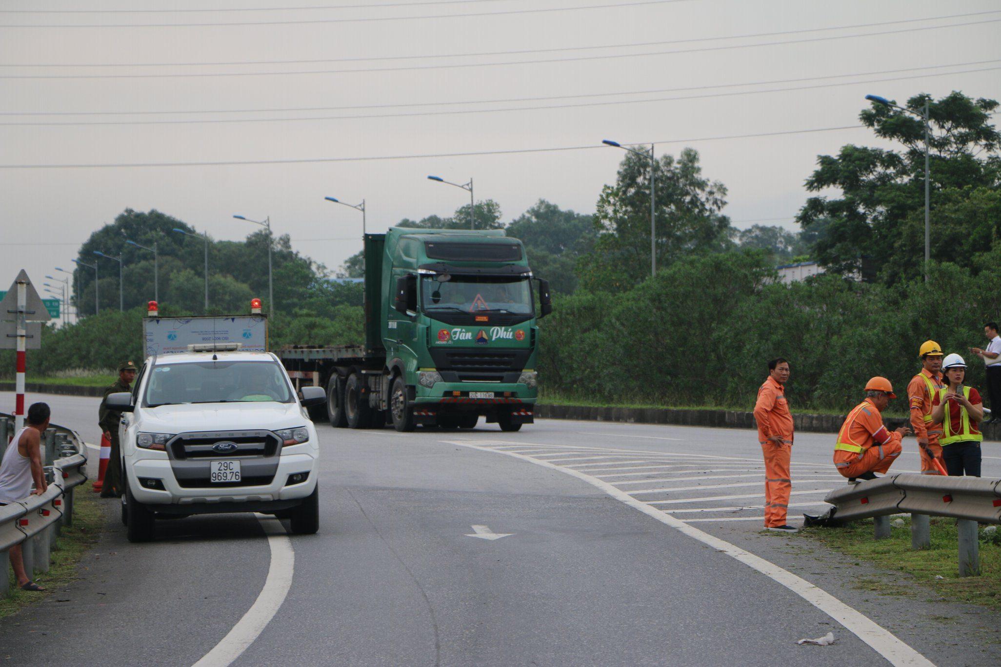 Luật sư nói gì về việc thực nghiệm điều tra vụ container tông Innova đi lùi trên cao tốc
