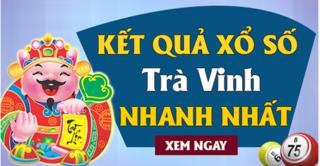 XSTV 23/8 - Kết quả xổ số Trà Vinh thứ 6 ngày 23/8/2019
