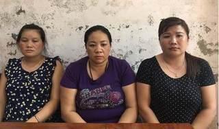 Bắt ba 'nữ quái' ở Nghệ An lừa bán phụ nữ, trẻ em gái sang Trung Quốc