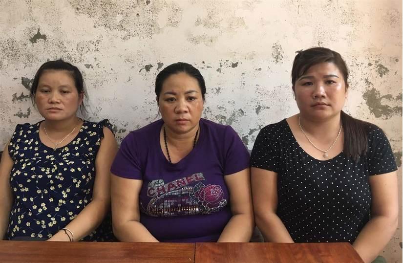Ba 'nữ quái' ở Nghệ An lừa bán phụ nữ, trẻ em gái sang Trung Quốc