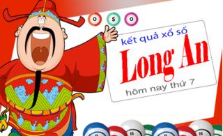 XSLA 2/11 - Kết quả xổ số Long An thứ 7 ngày 2/11/2019