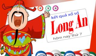 XSLA 7/12 - Kết quả xổ số Long An thứ 7 ngày 7/12/2019