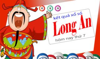 XSLA 4/1 - Kết quả xổ số Long An thứ 7 ngày 4/1/2020
