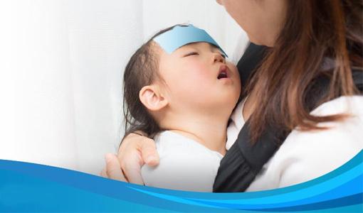 Cách hạ sốt nhanh ở trẻ em
