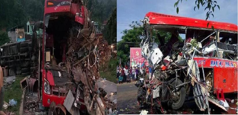 Dàn xe khách gây tai nạn ở Điện Biên bị cắt số khung, mài số máy