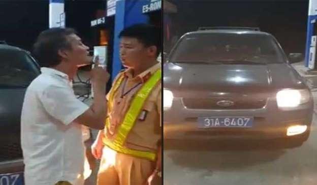 Vụ tài xế xe biển xanh tát vào mặt CSGT: Chủ sở hữu nhờ đem đi sửa, không hiểu vì sao vào tận Thanh Hóa