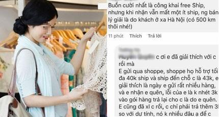 'Bóc phốt' chủ shop vì phải trả 3 nghìn tiền ship 500km, cô gái bị 'ném đá sấp mặt'
