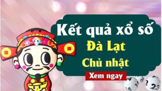 XSDL 25/8 - Kết quả xổ số Đà Lạt chủ nhật ngày 25/8/2019