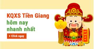 XSTG 25/8 - Kết quả xổ số Tiền Giang chủ nhật ngày 25/8/2019
