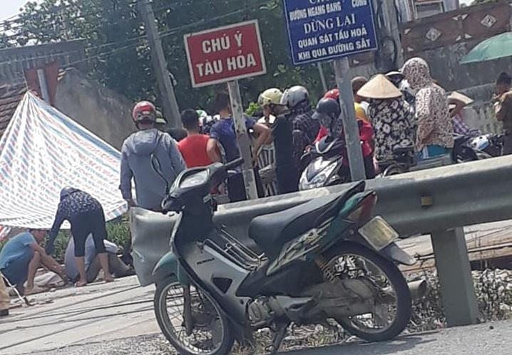 Danh tính người phụ nữ bị tàu tông tử vong ở Nam Định