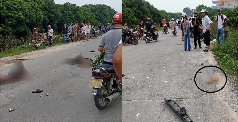Vụ tai 1 người tử vong, 1 đứt lìa cánh tay ở Hưng Yên