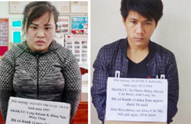 Bắt quả tang đôi vợ chồng 'hờ' mua bán trẻ sơ sinh sang Trung Quốc