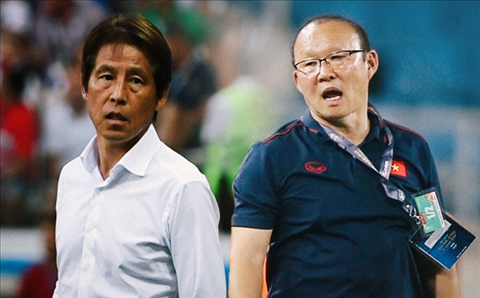 HLV Park Hang Seo tự tin bắt bài đối thủ Akira Nishino