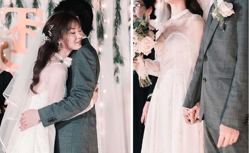 Cuộc sống được chồng chiều của cô dâu Việt tại Nhật tự may váy cưới