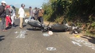 Tin tức TNGT ngày 29/8/2019: Ba xe máy tông liên hoàn, 5 người thương vong