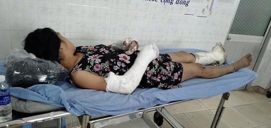 Thai phụ bị chồng đánh gãy tay chân, vỡ nền sọ bất ngờ trốn viện ra nghĩa trang