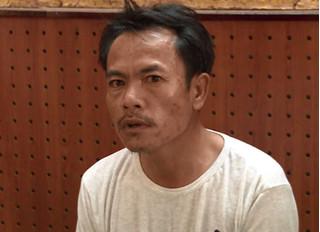 Bị kiểm tra nồng độ cồn, người đàn ông chạy về nhà lấy dao đâm CSGT