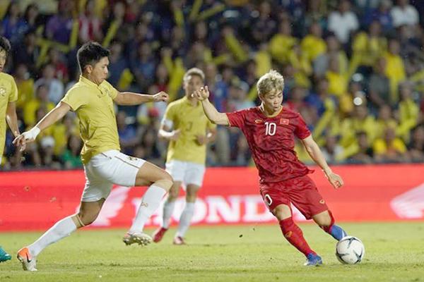 Tiền đạo Công Phượng nhận được nhiều sự kỳ vọng ở trận gặp Thái Lan