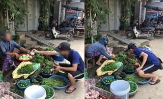 Câu chuyện phía sau chàng thanh niên kì kèo 1 nghìn đồng mua bó rau