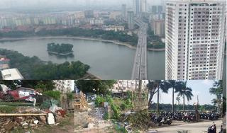 Những hình ảnh nhếch nhác tại chung cư từng 'HOT' nhất Hà Nội