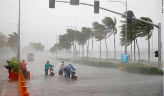 Bão số 4 di chuyển thần tốc, Nghệ An, Hà Tĩnh đã có mưa lớn