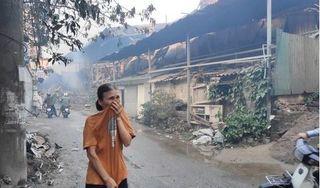 Vụ cháy Cty Rạng Đông: Không sử dụng thực phẩm nuôi, trồng trong bán kính 1km