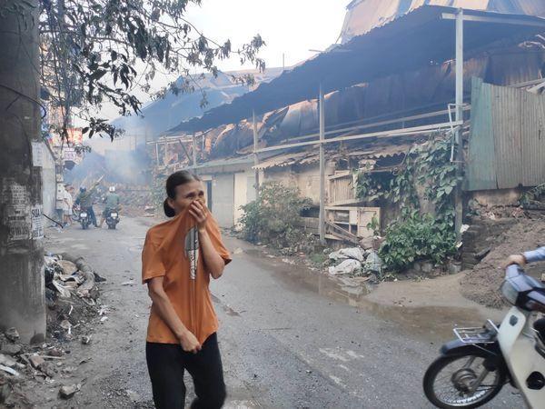 Vụ cháy Cty Rạng Đông: Sơ tán người già, trẻ nhỏ và không ăn thực phẩm nuôi, trồng trong bán kính 1km