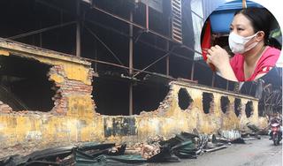 Vụ cháy kho công ty Rạng Đông: Quanh hiện trường vẫn còn mùi khét, người dân phải di tản lánh nạn