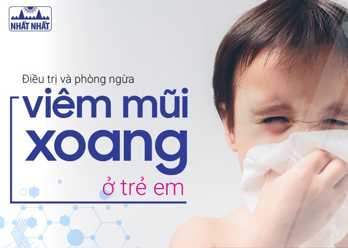 bệnh viêm mũi xoang