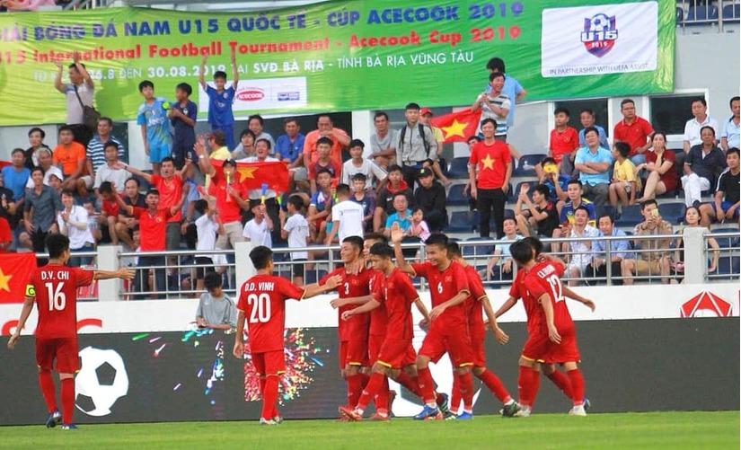 Đội tuyển U15 Việt Nam đánh rơi ngôi vô địch vào tay Hàn Quốc
