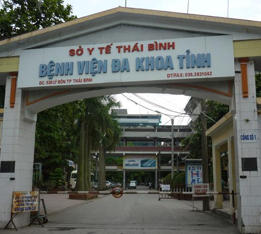 Các phòng lãnh đạo Bệnh viện Đa khoa Thái Bình bị trộm đột nhập
