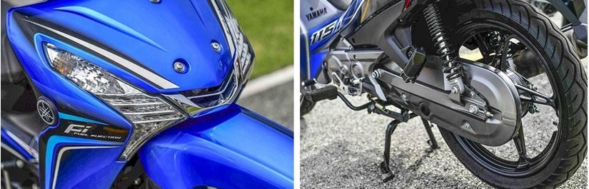 Ngắm Yamaha Finn giá rẻ đủ sức đè bẹp Honda Wave2