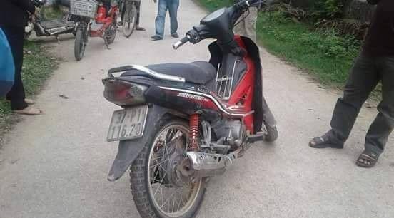 Kẻ trộm cậy cốp xe máy trộm hơn 200 triệu đồng ra đầu thú vì ân hận